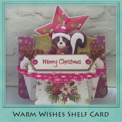Warm Wishes Shelf Card Kit
