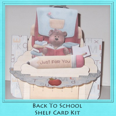 Back To School Shelf Card Kit