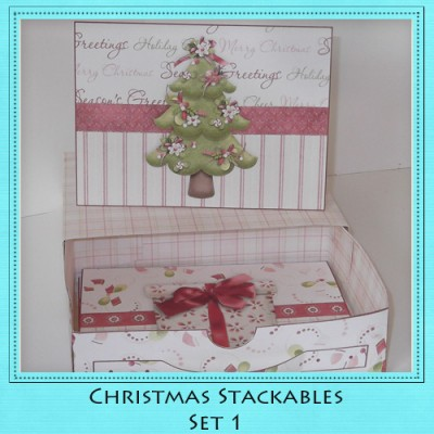 Christmas Stackables Set 1