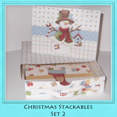 Christmas Stackables Set 2