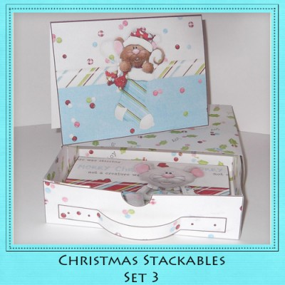 Christmas Stackables Set 3