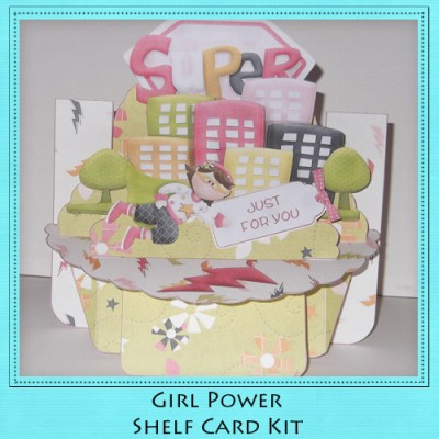 Girl Power Shelf Card Kit