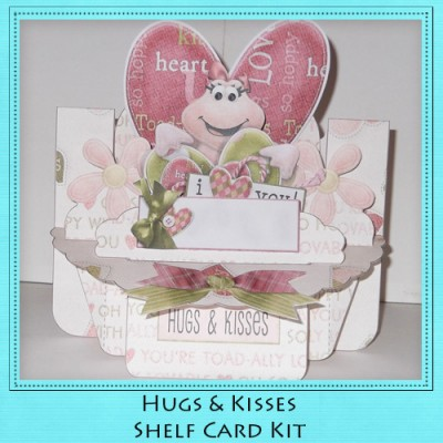 Hugs & Kisses Shelf Card Kit