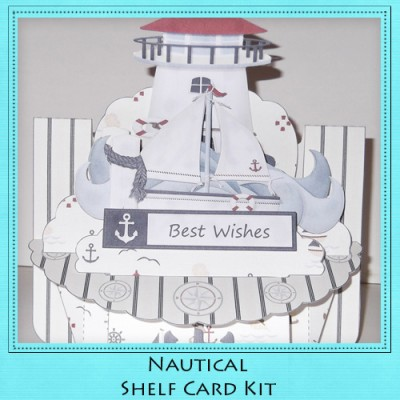 Nautical Shelf Card Kit