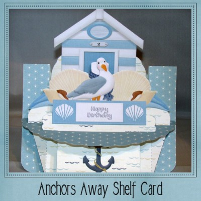 Anchors Away Shelf Card Kit