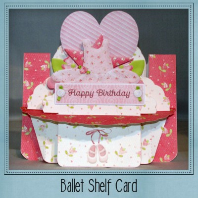 Ballet Shelf Card Kit