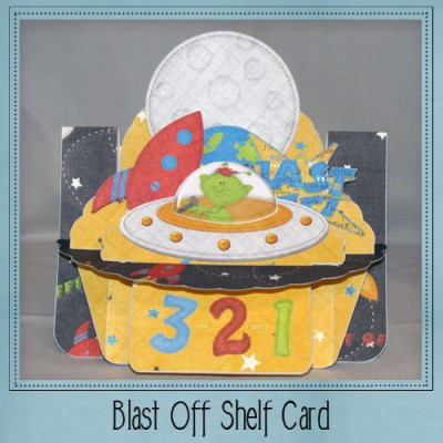 Blast Off Shelf Card Kit