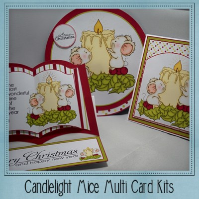 Candlelight Mice Multi Card Kit