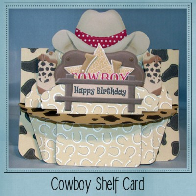 Cowboy Shelf Card Kit