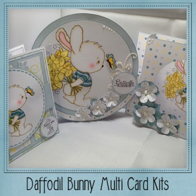 Daffodil Bunny Multi Card Kit