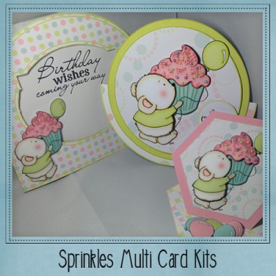 Sprinkles Multi Card Kit