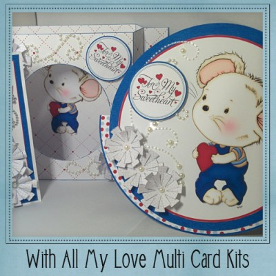 With All My Love Multi Card Kit