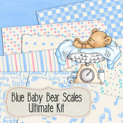 Blue Baby Bear Scales Ultimate Kit