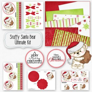 Scruffy Santa Bear Ultimate Kit