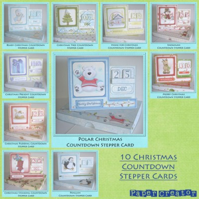 Christmas Countdown Stepper Cards Bundle