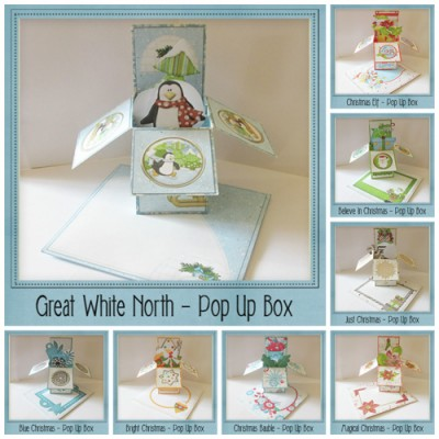 Christmas Pop Up Boxes Mega Bundle