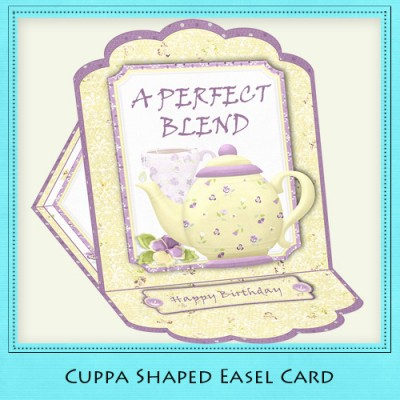 Cuppa - Easel Card Kit