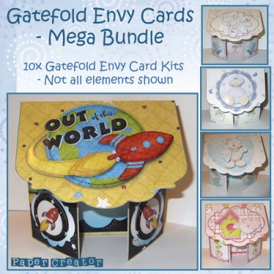 Gatefold Envy Cards - Mega Bundle