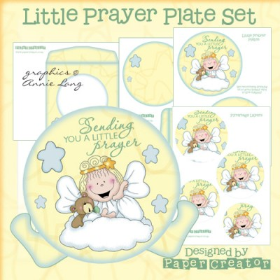 Little Prayer - Plate Set
