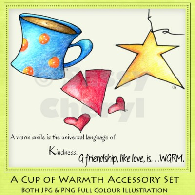 A Cup Of Warmth Accessory Set