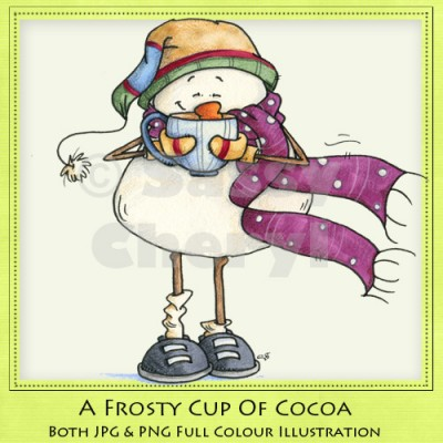 A Frosty Cup Of Cocoa
