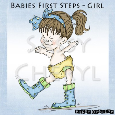 Babies First Steps - Girl