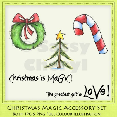 Christmas Magic Accessory Set