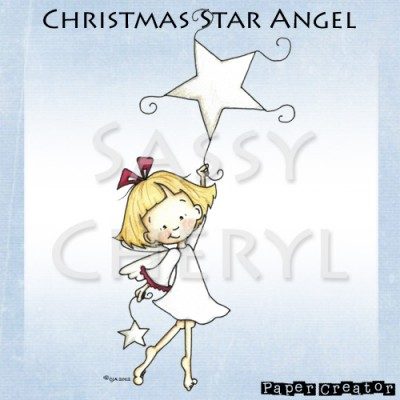 Christmas Star Angel