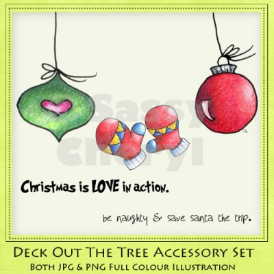 Deck Out The Tree Accessory Set
