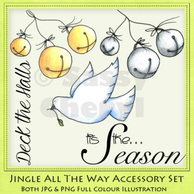 Jingle All The Way Accessory Set