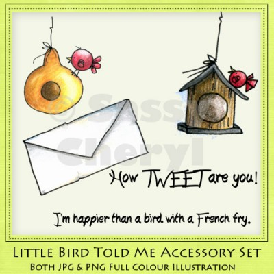 Little Bird Told Me Accessory Set