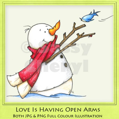 Love Is Having Open Arms