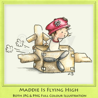 Maddie Is Flying High