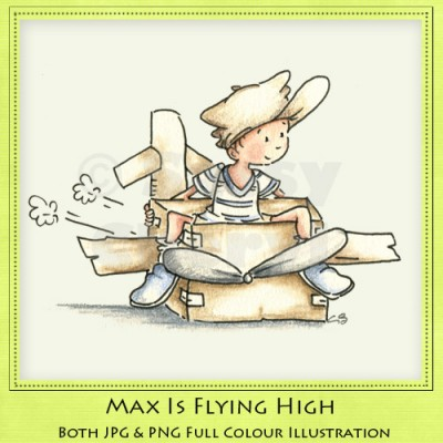 Max Is Flying High