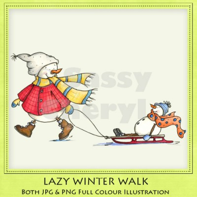 Lazy Winter Walk