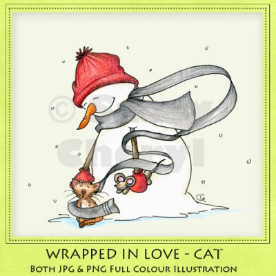 Wrapped In Love - Cat