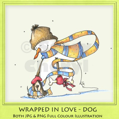 Wrapped In Love - Dog