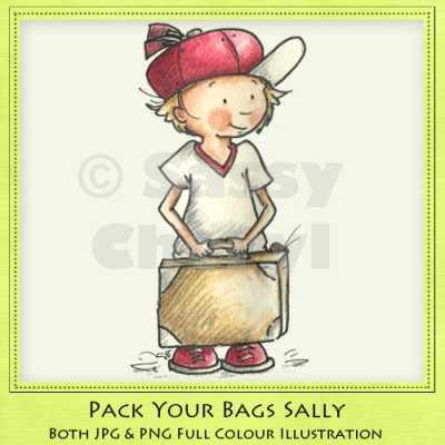 Pack Your Bags Sally