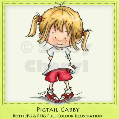Pigtail Gabby