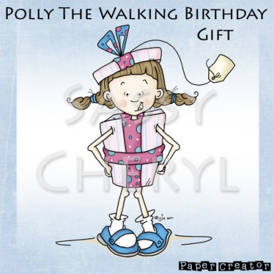 Polly The Walking Birthday Gift