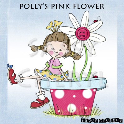 Polly's Pink Flower