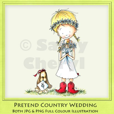 Pretend Country Wedding