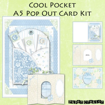 Cool Pocket - A5 Pop Out Card Kit