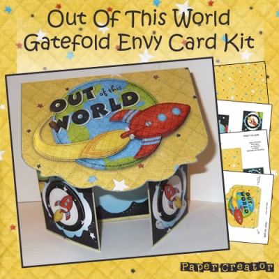Out Of This World - Gatefold Card Kit