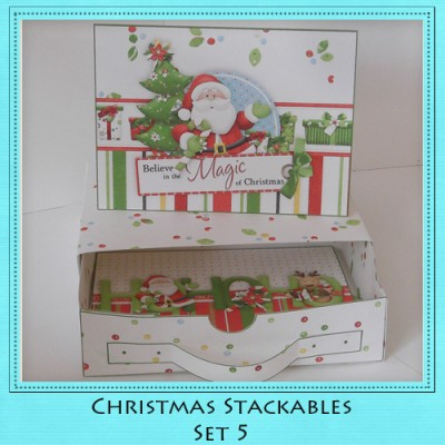 Christmas Stackables Set 5