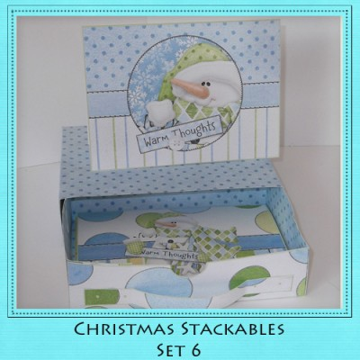 Christmas Stackables Set 6