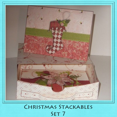 Christmas Stackables Set 7