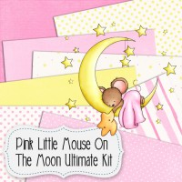 Pink Little Mouse On The Moon Ultimate Kit