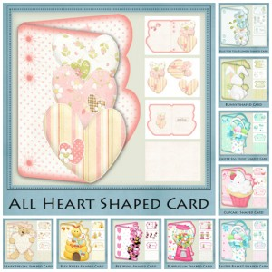 30x Shaped Cards Ultimate Bundle