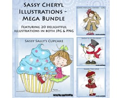 Sassy Cheryl Illustrations - Mega Bundle